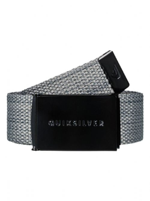 QUIKSILVER MENS BELT.NEW PRINCIPLE III GREY 32mm WEBBING BELT STRAP 8S 662 KPVH